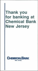 Chemical Bank envelope