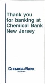 Chemical Bank envelope