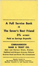 Cinnaminson Bank & Trust envelope