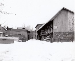 033_1947 Feb lumber yard - J.F. Yearly photo