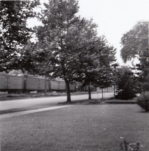August 1948- probably from front yard of 106 Broad St