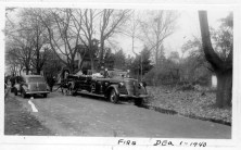 Fire near riverbank Dec 1 1940