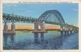 Tacony-Palmyra Bridge over Delaware River, Philadelphia, Pa 2