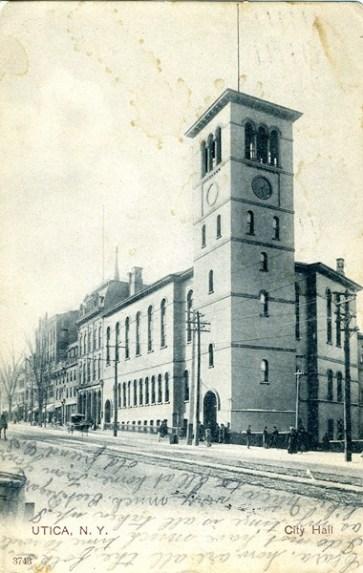 City Hall, Utica, NY 1907