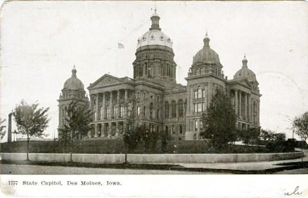 State Capitol, Des Moines, Iowa 1907