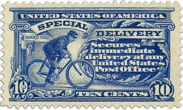 1902 USPO special delivery 10 cents