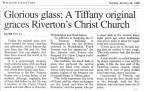 Christ Church Tiffany Window article BCT 1-28-1996_b