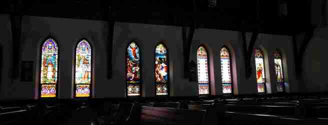 Christ Church stained glass1