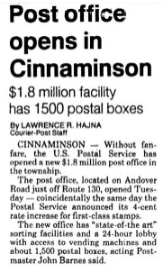 Courier-Post, Jan. 25, 1991