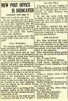 post office dedication, New Era July 11, 1940 pg 8