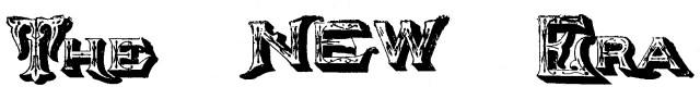 The New Era, 1894 logo