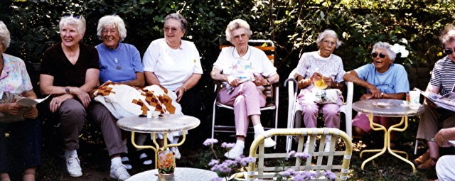 Friday Ladies -Toby, Norma, Bay, Ruth, June, Nell, Elsie, Betty