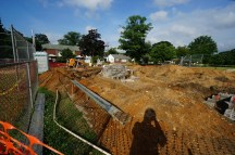 Grandstand construction 06-28-2013 05