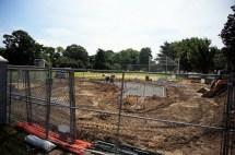 Grandstand construction 07-08-2013 04