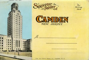 Camden Souvenir Folder cover