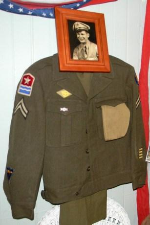 Daniel Goffredo's WWII uniform