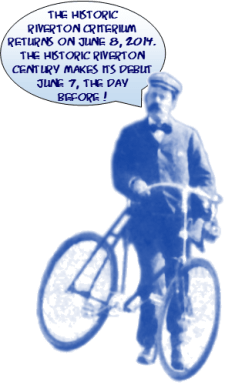 bicyclist and balloon