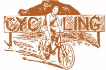 Sporting Life, 6-22-1895 bicycle graphic