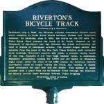 rivertons bike track sign
