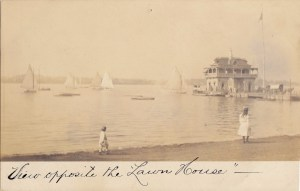 Riverton Yacht Club - View opposite Lawn House, from Nick Mortgu's collection
