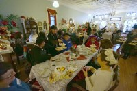 Guests enjoyed this Downton themed tea in March.