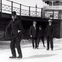 Skaters at RYC, 1908