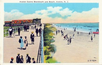Avalon Casino Boardwalk and Beach, Avalon, NJ