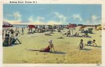 Bathing Beach Avalon, N.J.