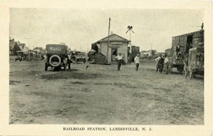 Railroad Station, Landisville, N.J.