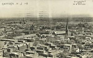 CAMDEN, NJ RPPC #6 1909