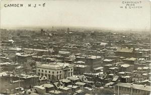 CAMDEN, NJ RPPC #8 1909