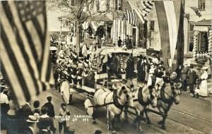 Camden Carnival RPPC 1908