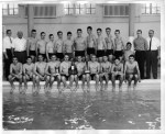 MCH Moorestown High School Boys' Swim Team 1960-1961