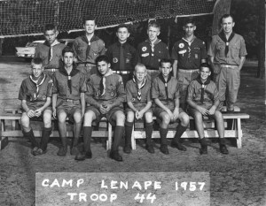Camp Lenape 1957