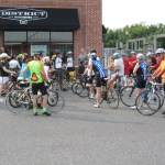 Carlos Rogers commends the HRCentury riders