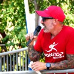 Carlos Rogers directs the action at the 6th Annual HRCriterium