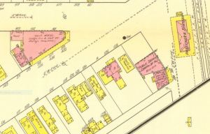 1911 Riverton Sanborn map detail