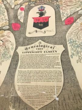 detail, Lippincott Family Tree