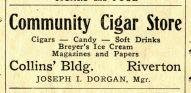 Community Cigar Store, The New Era, Mar 23 1933