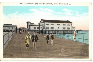 Abla Apartments and Pier Boardwalk, Stone Harbor, NJ
