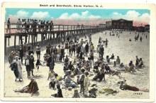 Beach and Boardwalk, Stone Harbor, NJ