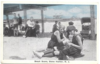 Beach scene, Stone Harbor, NJ 1328
