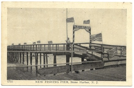 New fishing pier, Stone Harbor, NJ