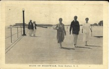 Scene on Boardwalk