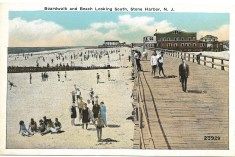 Boardwalk and Beach Looking South
