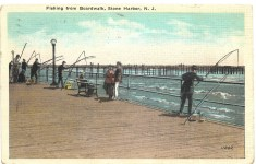 Fishing from Boardwalk