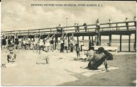 Physical Culture Class on Beach