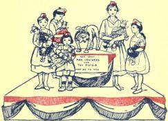 firecracker dangers - Mary Frances First Aid Book