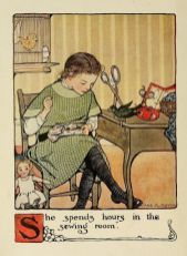 illustration - Mary Frances Sewing Book
