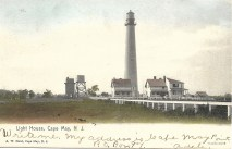 Light House, Cape May N.J.